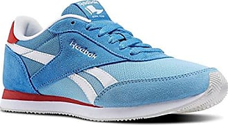 Royal Classic Jogger, Unisex-Erwachsene Laufschuhe, Blau (Faux Indigo/California Blue/Orange Dusk/White/Black/Collegiate Royal), 38.5 EU (5.5 Erwachsene UK) Reebok