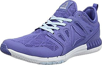 Reebok Sublite XT Cushion 2.0 MT, Chaussures de Running Entrainement Femme, Bleu (Lilac Shadow/Fresh Blue/White/Pewter), 37.5 EU