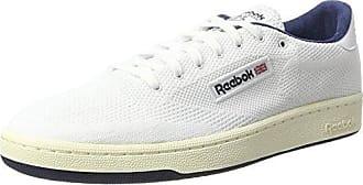 Reebok Club C 85 IT, Chaussures de Gymnastique Homme, Blanc Cassé (White/Skull Grey/Black), 39 EU
