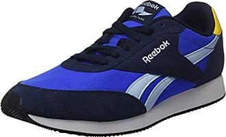 Reebok Royal Ultra, Sneaker Uomo, Blu (Deep Cobalt/Vital Blue/Fresh Blue/Yello/White/Black), 45 EU