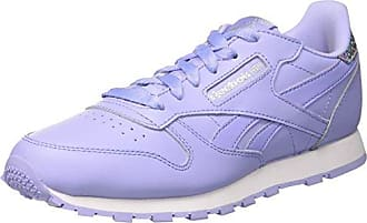 Reebok Classic Leather Pastel, Zapatillas de Running para Niñas, Azul (Fresh Blue/White), 30.5 EU