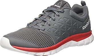 Reebok Yourflex Train 9.0 MT, Chaussures de Fitness Homme, Multicolore (Multicolore Primal Red/Ash Grey/White), 40 EU