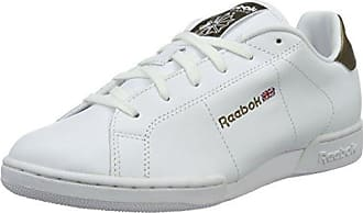 Unisex Adults NPC II Metallics Pack Low-Top Sneakers, White (White/Antique Copper), 4.5 UK Reebok