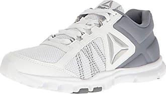 Reebok Damen Yourflex Trainette 9.0 MT Sneaker Low Hals, Schwarz (Blk/WHT/Asteroid Dust/Silver Met/Grey), 42 EU