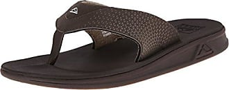 Reef Voyage Lux, Chanclas para Hombre, Marrón (Dark Brown Dab), 42 EU