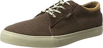 Ridge Dark Grey/Silve, Sneakers Basses Homme, Multicolore (Dark Grey/Silver), 44 EUReef