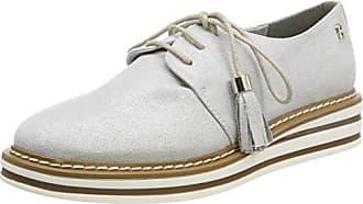 Remonte D2601, Zapatos de Cordones Oxford para Mujer, Plateado (Silber/Shark), 39 EU