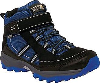 Regatta Trailspace 2, Zapatos de Low Rise Senderismo Niñas, Rosa (Jem/Charcoal 1Ck), 33 EU