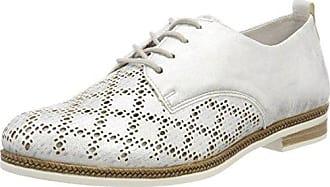51946, Zapatos con cordones para Mujer, Blanco (ice/80), 42 EU (8 UK) Rieker