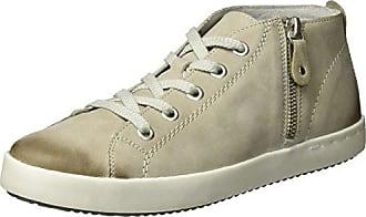 Remonte D9190, Sneakers Hautes Femme, Beige (Steel/kiesel/steel/42), 38 EU