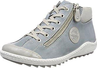 Remonte D5873, Zapatillas Altas para Mujer, Azul (Shark/Jeans/Silber), 40 EU