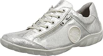 Remonte Damen R7801 Sneakers, Weiß (Beige-Silver/Altsilber/Bianco/81), 39 EU