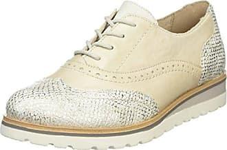 Lift D2604, Oxford Chaussures À Lacets Pour Les Femmes, Blanc (glace), 41 Eu