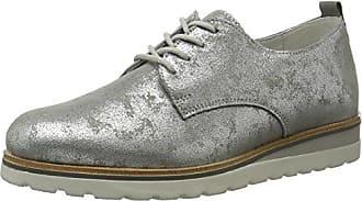 Gerry Weber Nora 02 - Zapatos Derby Mujer, Antracita, EU 39 (UK 6)