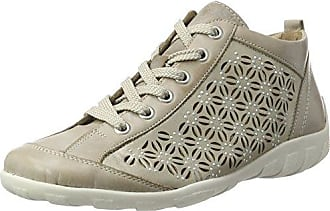 Womens D9193 Hi-Top Sneakers, Grey Remonte