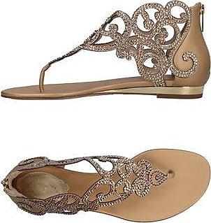 Sandals for Women On Sale, Nude, satin, 2017, 3 3.5 4.5 6 6.5 7.5 Rene Caovilla