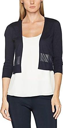 035Eo1G012 - Veston - Uni - Femme - Bleu (Navy 415) - FR: 38 (Taille fabricant: 36)Esprit ooNpq9vHFa