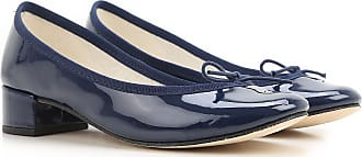 Ballet Flats Ballerina Shoes for Women On Sale, navy, Patent Leather, 2017, 4 Repetto
