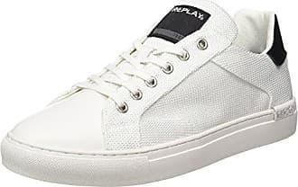 Bemd, Zapatillas para Hombre, Blanco (White Black 62), 43 EU Replay