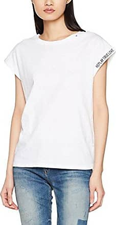 Replay W3965.000.52010t, Camiseta para Mujer, Azul (Dark Blue/Natural 10), X-Small