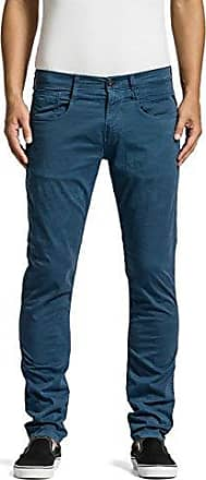 Anbass - Jeans - Slim - Homme, Bleu (Avion Blue 175), W32/L34Replay