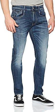 Anbass, Jeans Hombre, Negro (Black Denim), W33/L36 (Talla del fabricante: 33) Replay