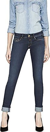Damen Slim Jeanshose Rose Gr. W25/L30 (Herstellergröße: 25) Blau (Blue Denim 7) Replay