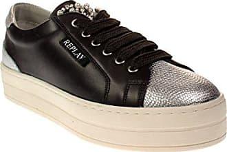 Schwarze Replay Sneaker JONELLE CW38qDVM
