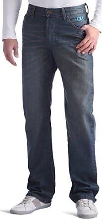Supporter-OLYMPIQUE MARSEILLE 8- Jean - Homme - Bleu - W29/L33 (Taille Fabricant : 36)Rica Lewis Jeu 100% Authentique YGgC2xTPc