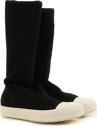 Slip on Sneakers for Men On Sale, Black, Leather, 2017, 10.5 7 7.5 8 8.5 9 9.25 9.5 Rick Owens