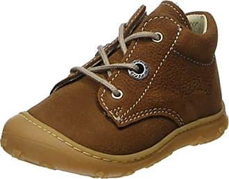 Ricosta Marti, Oxford Chaussures À Lacets Enfants Unisexe, Brun (curry / Ahorn 262), 19 Eu