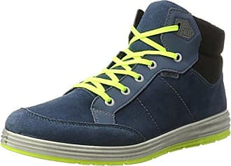 Ricosta Bajo, Sneakers Hautes Homme, Bleu (Pavone), 41 EU