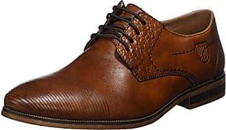 Rieker 15225, Zapatos de Cordones Oxford para Hombre, Azul (Ozean), 45 EU