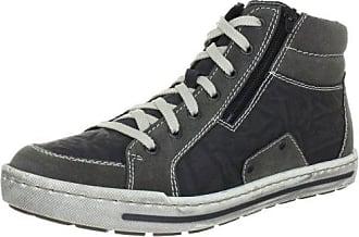 Rieker Herren 30910 Hohe Sneaker, Blau (Navy/Pazifik/Granit), 43 EU