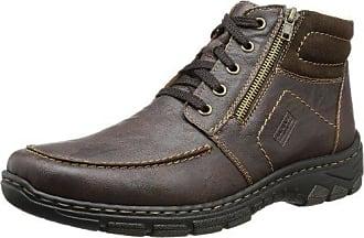 Rieker 75612-24 - botas de caño bajo de material sintético mujer, color marrón, talla 42 EU (8 Damen UK)