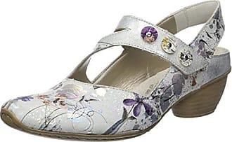 Rieker 62461-90, Sandales Bride Arriere Femme, Multicolore (Ice-Multi/Pazifik), 40 EU