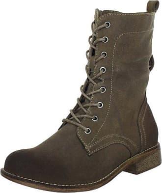 Rieker F1530-26 - botas de cuero hombre, color marrón, talla 46 EU (11 Herren UK)