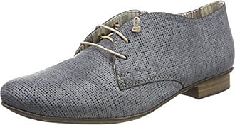 Rieker 51932, Derby Femme, Bleu (Jeans/Adria/14), 39 EU