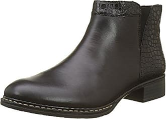 Rieker 73484-00 00 Black, Schuhe, Stiefel & Boots, Chelsea Boots, Grau, Female, 37