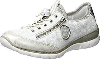 Rieker L3251, Baskets Basses Femme, Gris (Quarz/Ice/Grey/Silverflower/Vapor/40), 42 EU
