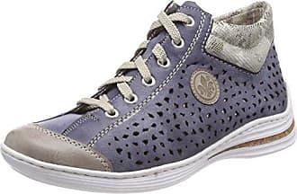 Femmes M79k5 Rieker Haute Sneaker x5THSyn