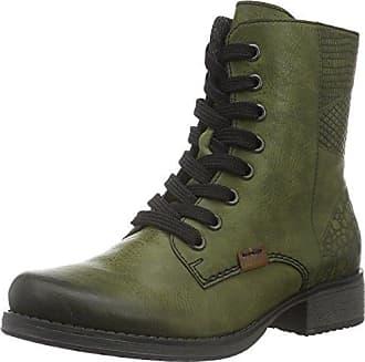 SHOWHOW Damen Knöchel Stiefelette Martin Boots Kurzschaft Stiefel Schwarz 38 EU y9xYFXjDNl