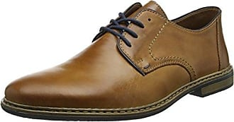Rieker 13710, Derbys Homme, Marron (Brown/Kastanie), 42 EU