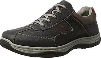 Rieker 16920, Sneakers Basses Homme, Noir (Schwarz/Granit/Schwarz), 44 EU
