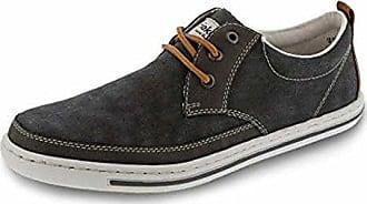 Rieker 19000, Chaussures Pour Hommes, Gris (anthracite / Anthracite / Amaretto / 45), 41 Eu