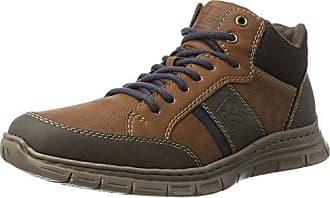 Rieker Nicht Angegeben, Sneakers Hautes Homme, Gris (Ozean/Granit/Schwarz), 45 EU