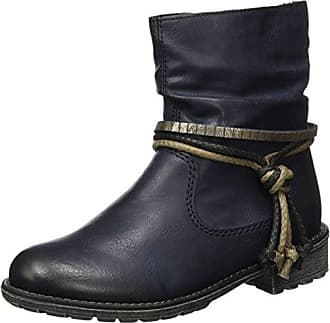 Rieker Kinder Mädchen K3458 Biker Boots, Braun (Chestnut), 37 EU