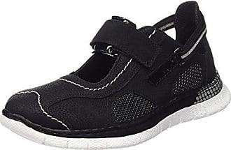 Rieker Damen L0559 Sneakers, Schwarz (Schwarz/Schwarz/Schwarz/Schwarz/00), 37 EU