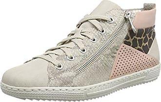 Rieker Top Sneakers Haut De Femmes Gris - Gris - 39 Eu XuCbqeXmgO