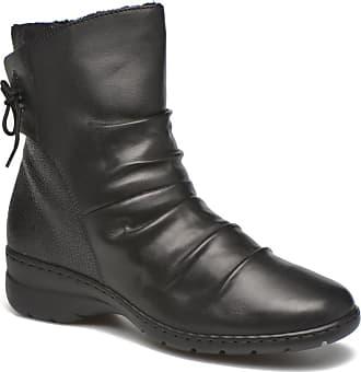 Femmes Y1551 Rieker Bottes - Noir (noir / Noir), Taille: 38